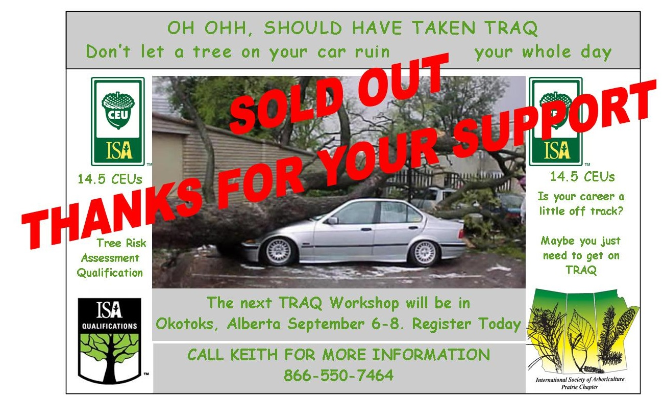 TRAQ Ad Okotoks 2017 SOLD OUT